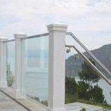 Fácil instalación de bricolaje canal U balaustres de vidrio / Rieles con base Aluminio Precio Canal