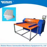 Espuma de Veinas EPE que corta e que corta a maquinaria de empacotamento da espuma de Machine/EPE