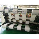 Jumbo de alta precisión el papel del arte de la máquina de corte longitudinal con eje deslizante