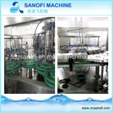 3 en 1 línea de relleno y que capsula de enjuague de Prodution del agua mineral