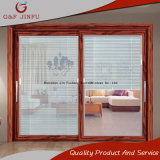 Superqualität außen/Innenaluminiumglasschiebetür mit Blendenverschlüssen