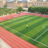 42mm de altura de forma cruzada para o campo de futebol de relva artificial