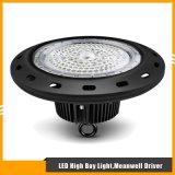 Tipo alta bahía de UFO/Round de 100W LED para la iluminación del almacén/de la fábrica
