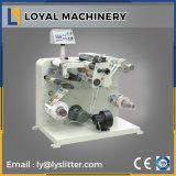 machine de fente de roulis de papier d'étiquette adhésive de haute précision de 320mm