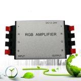 알루미늄 죔쇠 RGB 증폭기 12V~24V 클립 LED 신호 증폭기