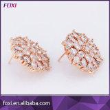 De meeste Populaire Oorringen van de Juwelen van het Zirconiumdioxyde van het Koper voor Vrouwen