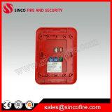 アドレス指定可能な火災報知器の角のストロボの音響器