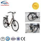 2018 moda elegante bicicleta eléctrica con motor de CC