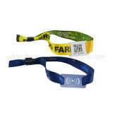 Wristband tecido Ntag213 de 13.56MHz RFID para o festival