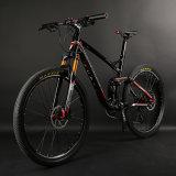 bici di montagna piena di alluminio della sospensione 26er con Shimano 20speed