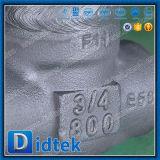Didtek 고압 Wcb 3/4 인치 게이트 밸브