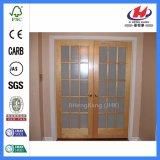 Portas de vidro dos únicos interiores do café da antiguidade da folha (JHK-G24)