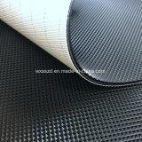Banda transportadora negra caliente del modelo PVC/PU del perfil del diamante de la venta 2m m