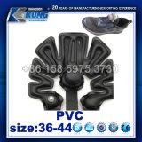 La parte superior de PVC inflable de moda calzado deportivo el componente haciendo