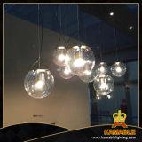 Lumière pendante s'arrêtante en verre moderne (MD8111-1)