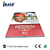 Folleto video del asunto de 2.4/2.8/4.3/5/7/10.1 pulgadas para Nigeria