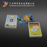 Tarjetas de juego populares de las tarjetas educativas de encargo