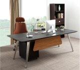 Table de bureau MDF en cuir de style nouveau style (V9)