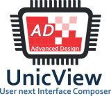 7'' 1024*600 TFT LCD avec haute définition RTP/P-Cap écran tactile