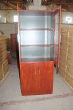 La puerta de cristal Archivador Oficina estantería estantería de madera Muebles de oficina