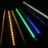 LED 나무를 꾸미기를 위한 다채로운 유성우 비 떨어지는 빛