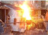 Induktions-Heizungs-Ofen-schmelzendes Gerät für Eisen (ZX-GW-5T)