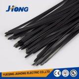 Cintas plásticas pretas UV feitas do nylon 66
