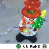 El muñeco de nieve de Navidad regalos de Navidad Muñeco de emisores de luz