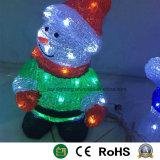 Doll van Kerstmis van de Giften van Kerstmis van de sneeuwman Licht Uitzendend