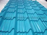 低価格の波形を付けられたか、または台形または艶をかけられた多彩なPPGI/PPGLの鋼鉄屋根ふき版