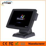 Fabricante novo da posição de China terminal da posição da tela de toque de 15 polegadas com leitor de cartão
