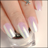 Aurora luminosa acrílico espejo cromado Rainbow Shell pigmento Pearl