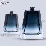 Poli et revêtement de couleur le verre bouteille de parfum pour le marché de masse