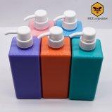Bottiglia di plastica della pompa quadrata dello sciampo di alta qualità (BT-D-6-600)