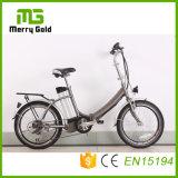 E-Bicicleta pequena de dobramento da bicicleta elétrica de Ebikes 36V 250W com as bicicletas de China E da bateria de lítio