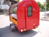 さまざまなカラー使用できる食糧トレーラーのクレープのカートデザイン価格