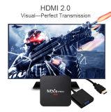 Contenitore superiore stabilito 2017 di PRO Amlogic S905 del Android 6.0 di Mxq di Bluetooth 4.0 3D 4K IPTV Ott casella astuta del Internet TV