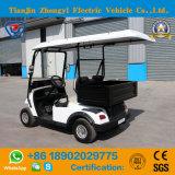 Carro de golfe elétrico de Zhongyi mini 2 Seater com cubeta traseira