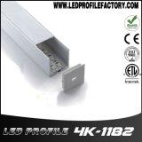4118 LED-Streifen-Licht-Diffuser (Zerstäuber), LED-Aluminiumkanal, LED-Streifen-Deckel