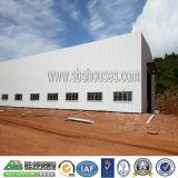 La luz - pulsar el taller del edificio del metal de la estructura de acero
