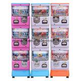 Distributore automatico della capsula del giocattolo della macchina del giocattolo dell'uovo di tre strati