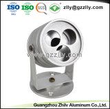 Anodize Серебристый алюминиевый профиль радиатор для освещения в коммерческих целях