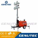 Diesel van de Generator van Kubota van de Macht van Genlitec Mobiele Lichte Toren (GLT4000-9M)