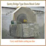 O cortador de pedra automático do bloco para o grupo grande do bloco do granito da estaca viu a máquina (DQ2500)