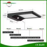 잘 고정된 옥외 점화 48LEDs 태양 에너지 LED 가로등