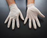 Порошок перчатки латекса устранимый освобождает 9 дюймов