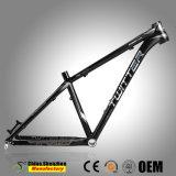 27.5er VTT vélo de montagne châssis en aluminium avec logo argenté