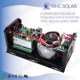 Inversor puro da onda de seno 3000W da alta qualidade para o sistema solar