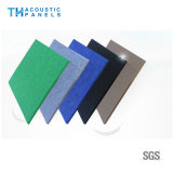 Eco friendly Fibra de poliéster Interior Ropa de papel tapiz decorativo Panel de absorción de sonido para el panel de pared