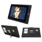 Новый дверной звонок телефона двери экрана касания 7 дюймов видео- целесообразный для WiFi или проводов